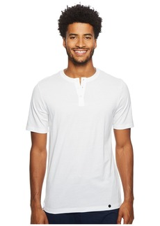 Hanro Night & Day Short Sleeve Henley Shirt