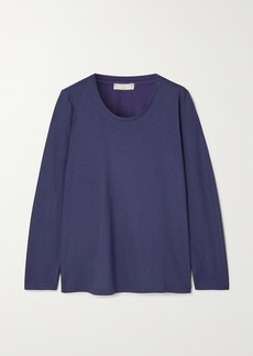 Hanro Oversized Cotton And Modal-blend Pajama Top