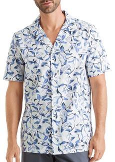 Hanro Short-Sleeve Hawaii Printed Shirt