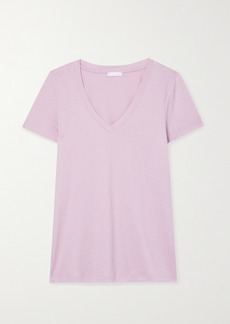 Hanro Sleep and Lounge Cotton And Modal-blend T-shirt