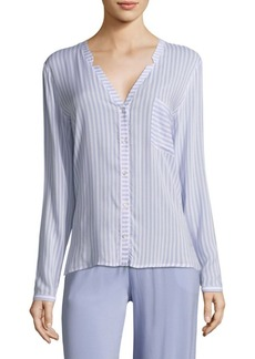 Hanro Long-Sleeve Pajama Top