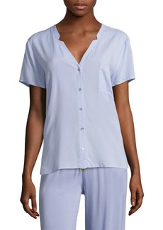 Hanro Short-Sleeve Pajama Top