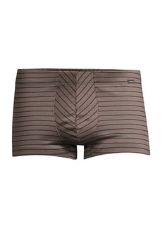 Hanro Sporty Stripe Cotton Boxer Briefs
