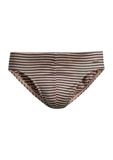 Hanro Sporty Stripe Cotton Briefs