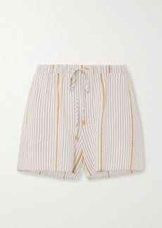 Hanro Striped Woven Shorts