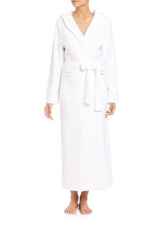 Hanro Terry Long Hooded Robe