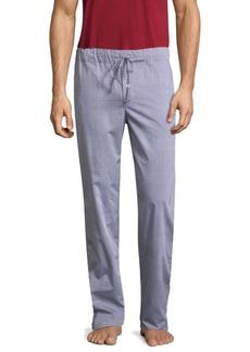 Hanro Woven Cotton Pajama Pants