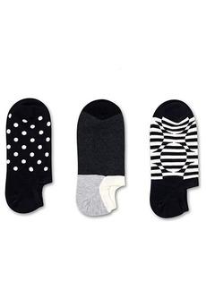 Happy Socks 3-Pack Optic Dot Sneaker Liner