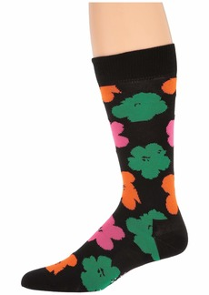 Happy Socks Andy Warhol Graphic Flower Sock