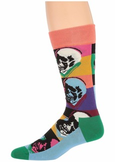 Happy Socks Andy Warhol Skull Sock