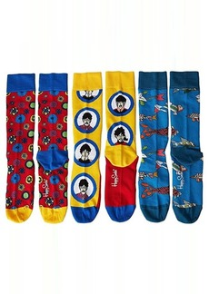 Happy Socks Beatles 50th Anniversary EP Collector's Box 3-Pack