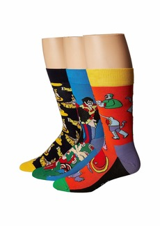 Happy Socks Beatles EP Collector's Box 3-Pack
