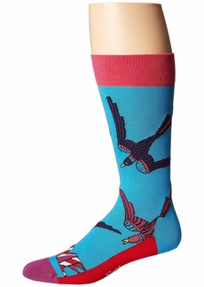 Happy Socks Beatles Love Swallow Sock