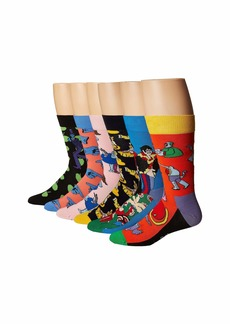 Happy Socks Beatles LP Collector's Box 6-Pack