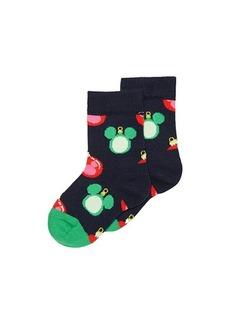 Happy Socks Disney Holiday Baublelicious Sock (Toddler/Little Kid)