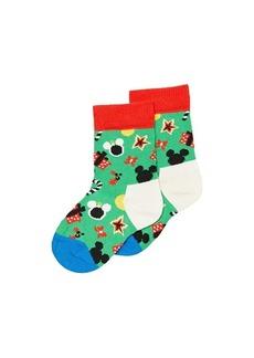 Happy Socks Disney Holiday Treemendous Sock (Toddler/Little Kid)