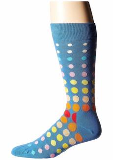 Happy Socks Faded Disco Dot Sock
