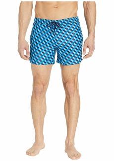 Happy Socks Filled Optic Swim Shorts