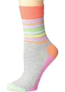 Happy Socks Half Stripe 1/2 Crew Sock