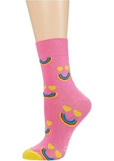 Happy Socks Happy Rainbow Half Crew Sock