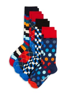 Happy Socks 4-Pack Holiday Gift Set - 100% Exclusive