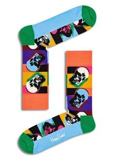 Happy Socks Andy Warhol Skull Socks
