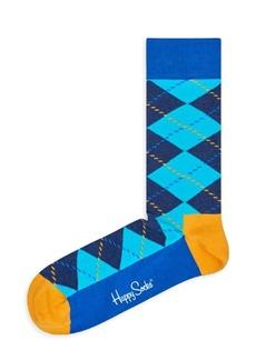 Happy Socks Argyle-Print Socks
