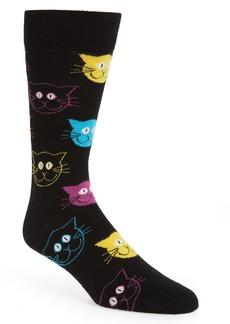 Happy Socks Cat Socks (3 for $30)