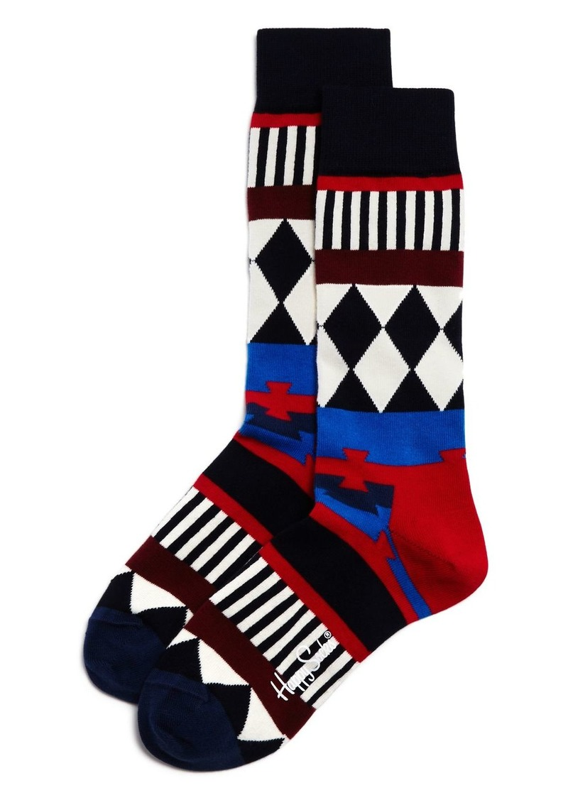 Unisex Disco Tribe Socks Happy Socks