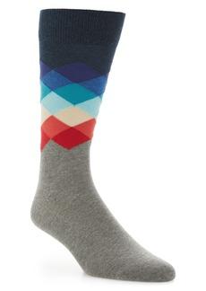 Happy Socks Faded Diamond Socks (3 for $30)