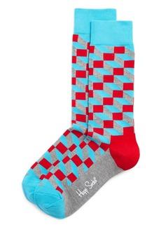 Happy Socks Filled Optic Socks - 100% Exclusive