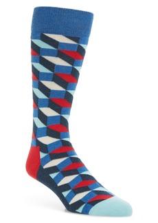 Happy Socks Filled Optic Socks (3 for $30)