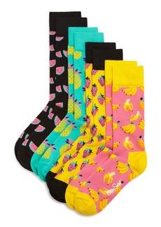 Happy Socks Fruit Socks Gift Box, Set of 4