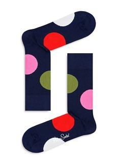 Happy Socks Jumbo Dot Crew Socks