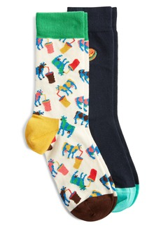 Happy Socks Junk Food Assorted 2-Pack Sock Gift Set
