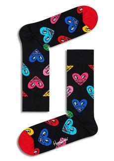 Happy Socks Keith Haring Heart Socks