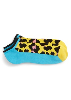 Happy Socks Leopard Low Cut Socks (3 for $30)