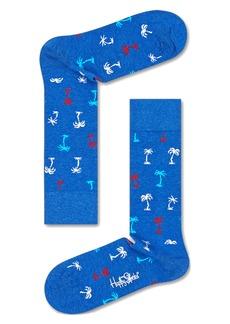 Happy Socks Men's Palm Socks