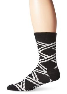 Happy Socks Men's Unisex Combed Cotton Crew Chain (Pack of 1)