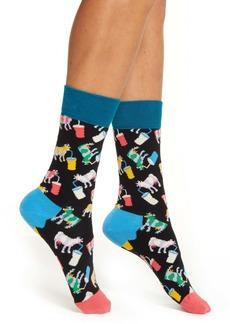 Happy Socks Milkshake Crew Socks