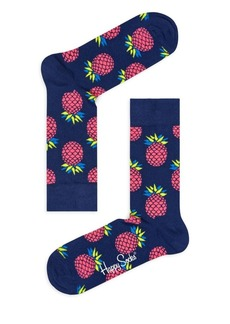 Happy Socks Pineapple Crew Socks