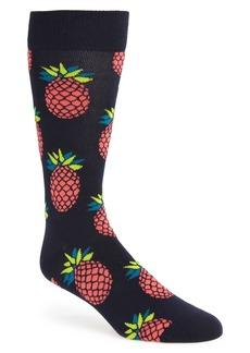 Happy Socks Pineapple Crew Socks (3 for $30)