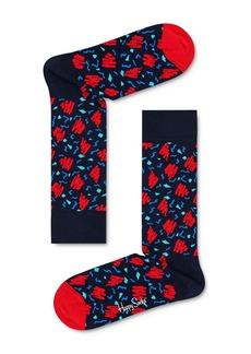 Happy Socks Sketch Crew Socks