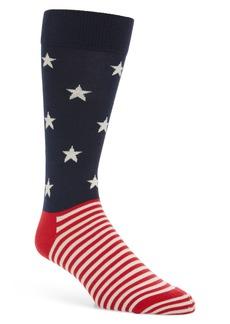 Happy Socks Stars & Stripes Socks (3 for $30)