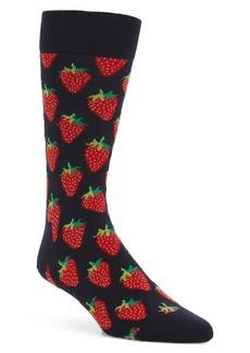 Happy Socks Strawberry Socks (3 for $30)