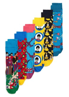Happy Socks The Beatles Assorted 6-Pack Sock Gift Set