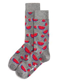 Happy Socks Watermelon-Pattern Socks