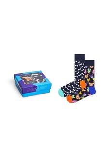 Happy Socks Women's Dog Lover Gift, Pack of 2