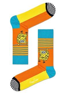 Happy Socks x SpongeBob Let's Work it Out Socks