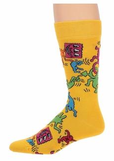 Happy Socks Keith Haring All Over Sock
